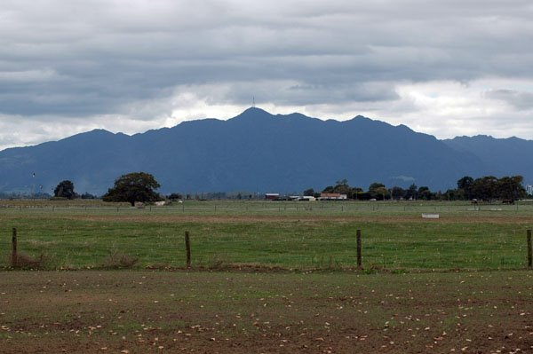 Mt. Te Aroha from Wilton Rd  Apr 2005