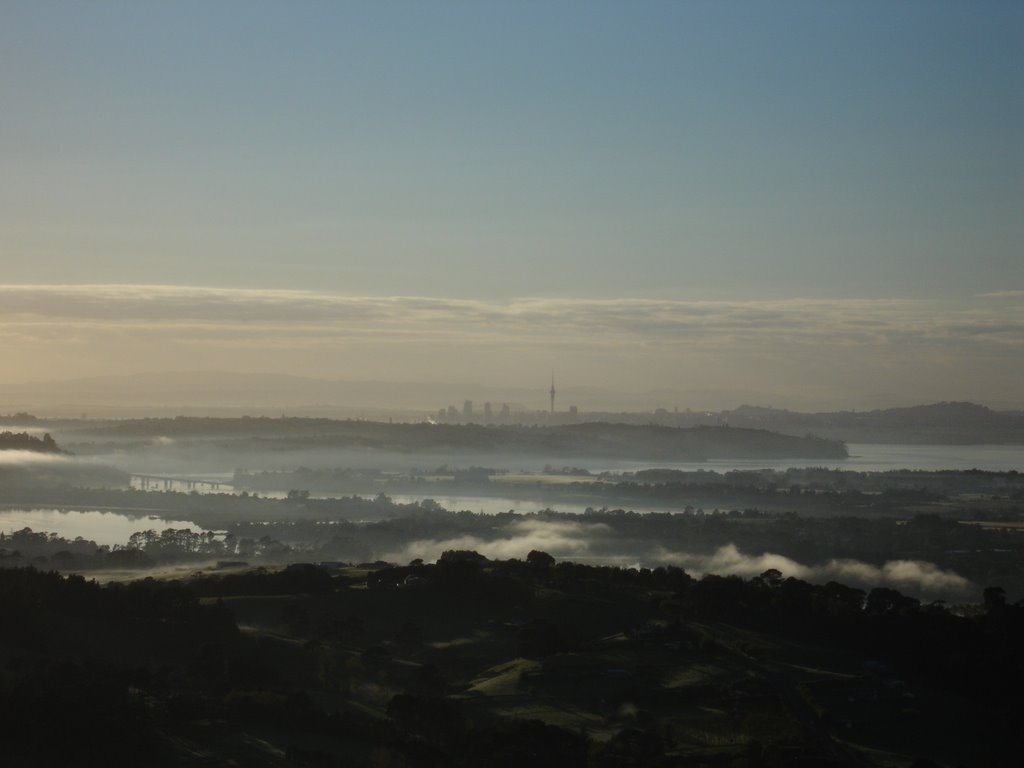 Auckland from Riverhead