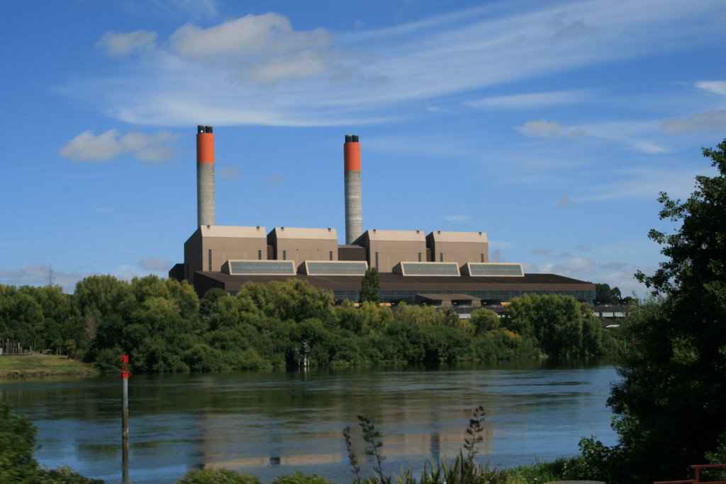 Huntly gas/coal Power Station