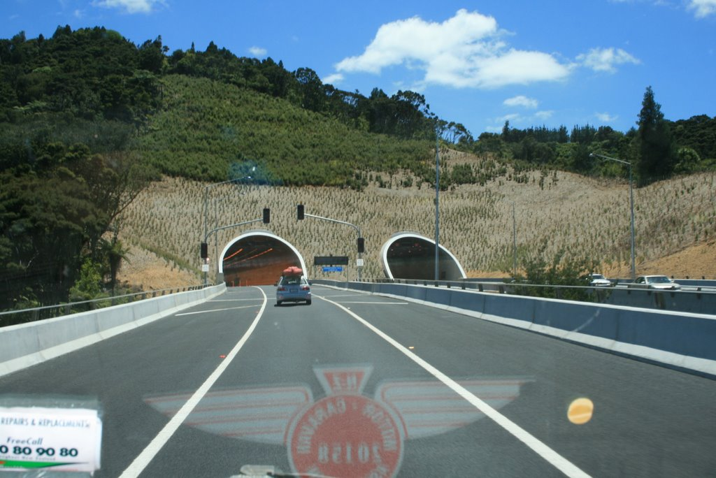 New Twin Tunnels of the Orewa By-Pass