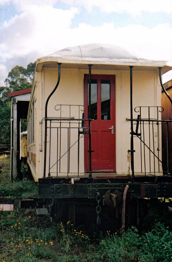 Old rail carriage