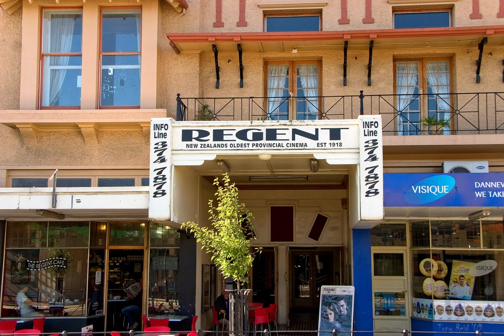 Regent, NZs Oldest Provincial Cinema Est 1918