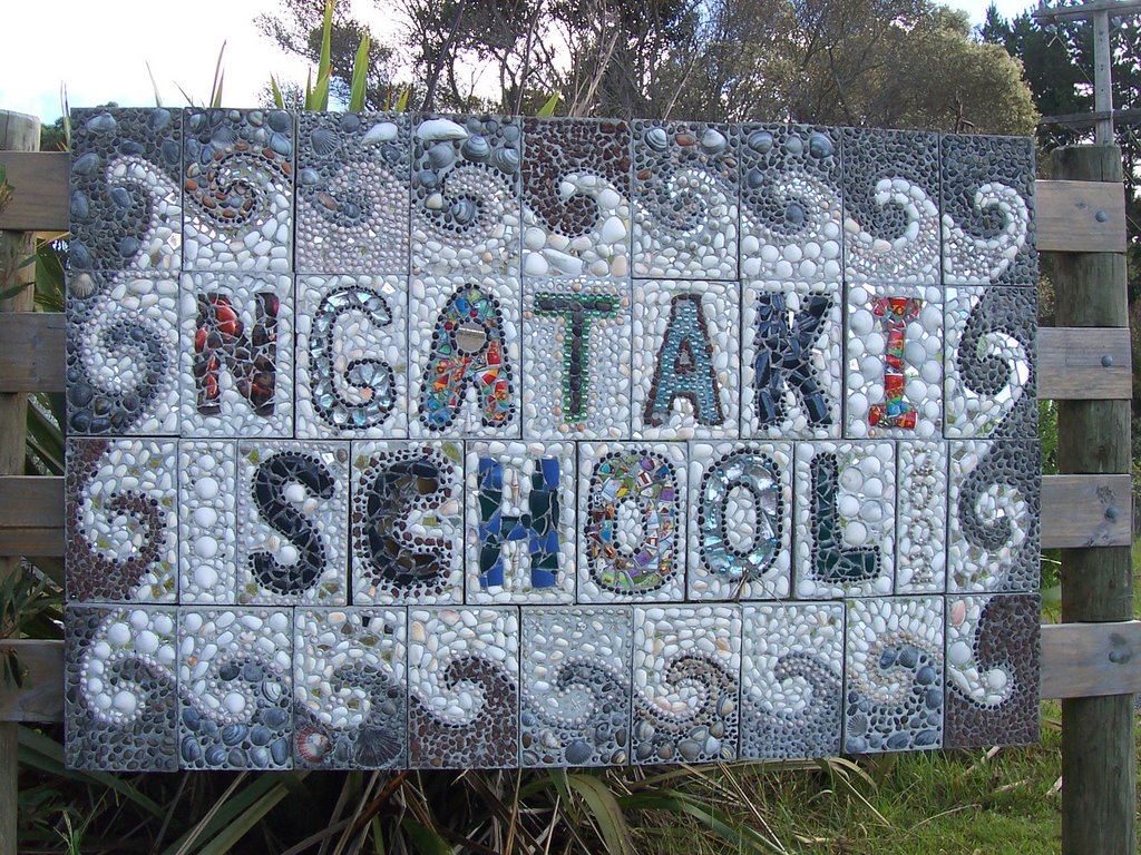 Ngataki, the sign has certainly been created by the pupils