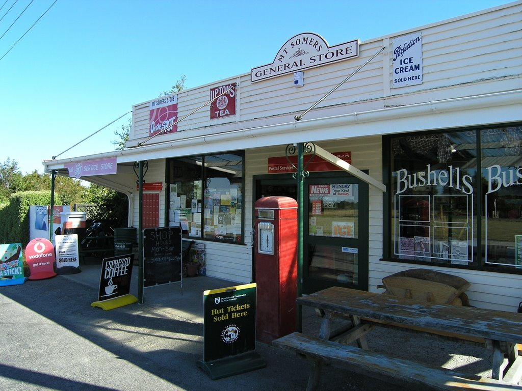 Mount Somers historicist General Store
