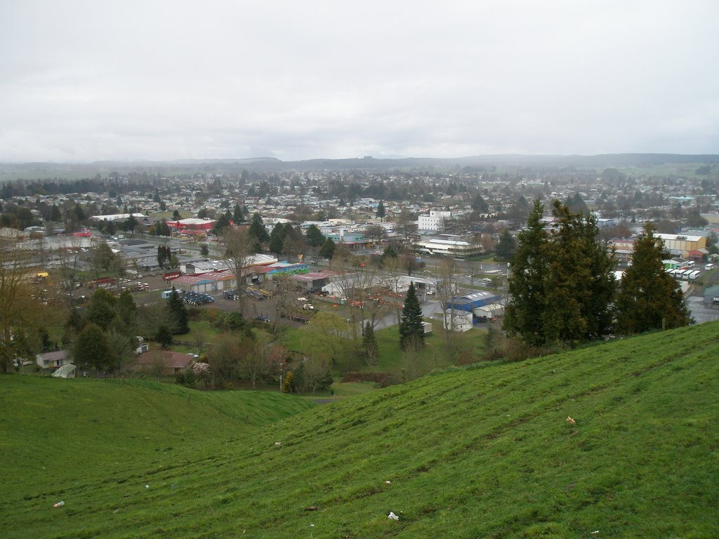 Town Centre Tokoroa From Colsons Hill