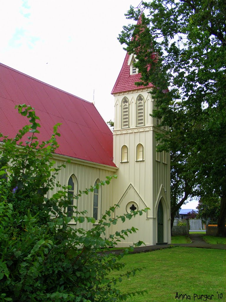 St Thomas Anglican Parish Church of Rangitkei. Sanson