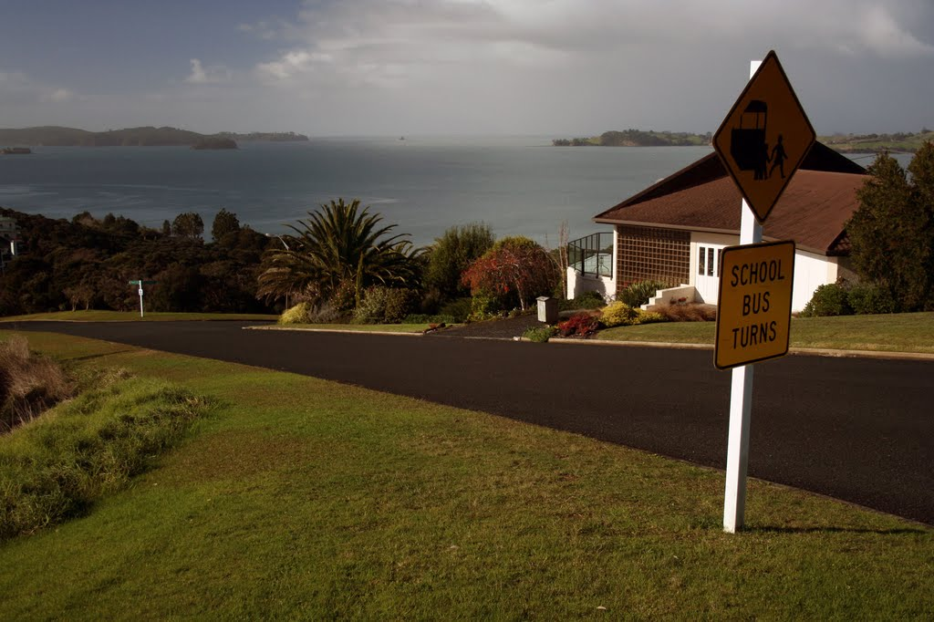 Kawau Bay, above Snells Beach