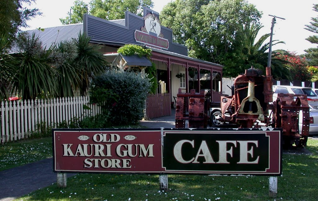 Kauri Gum Store & Cafe, Riverhead, Nth.Auckland
