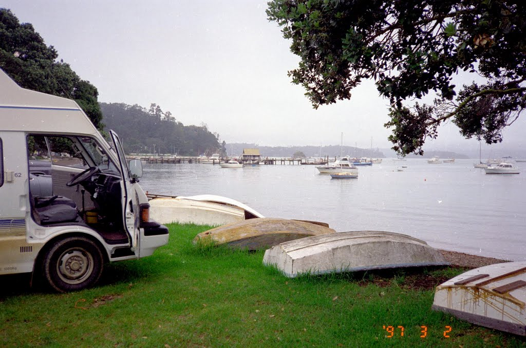 Little boats, Bay Of Islands, North Island, New Zealand 1997