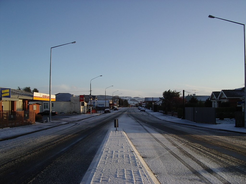 Mosgiel After Snow