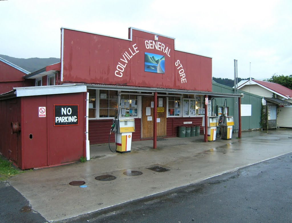 Colville general store and petrol station