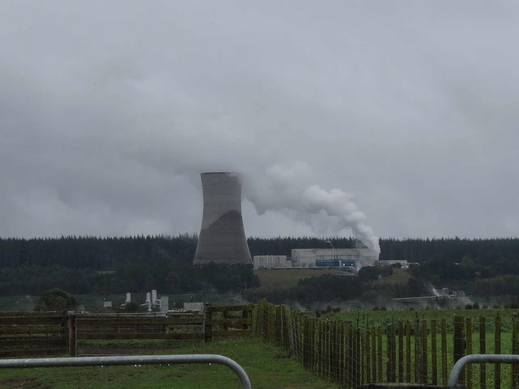 Ohaaki geothermal power plant