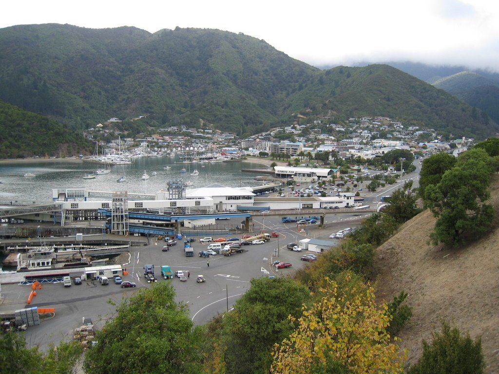 Picton, New Zealand, ferry port