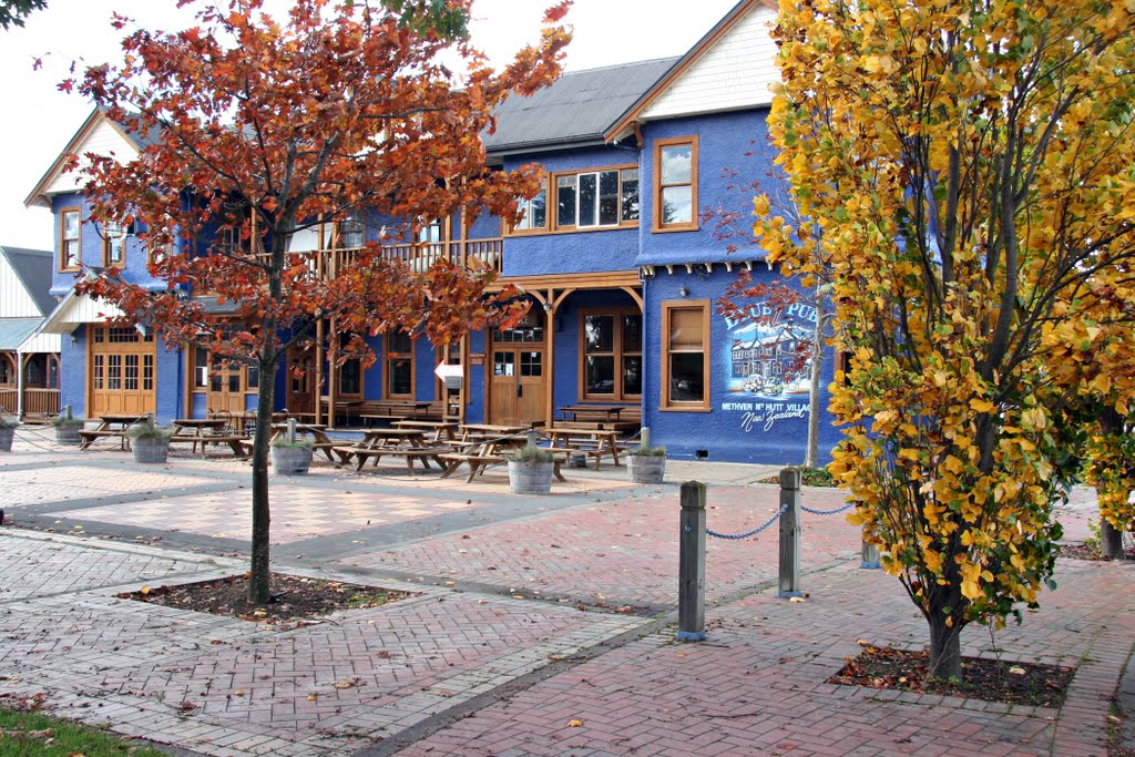 The Blue Pub, Methven, NZ