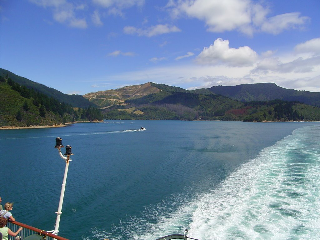 Cook strait - Ferry
