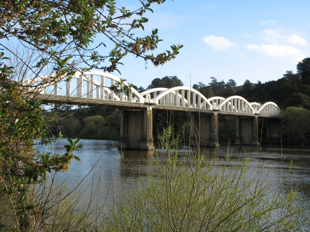 Tuakau Bridge on the Waikato