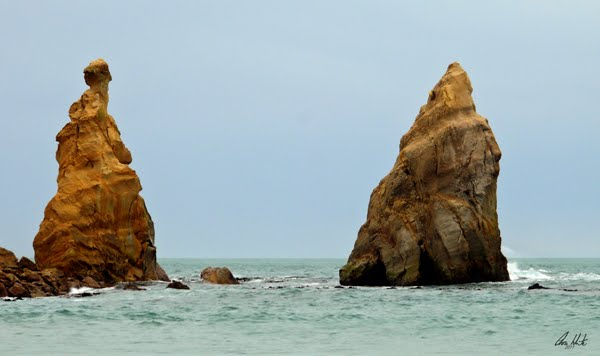 Rock Formations - Karitane, Otago Coastline