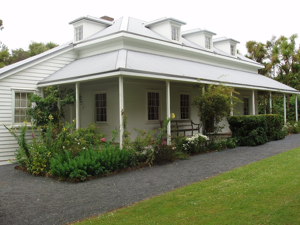 Bishop Selwyn Mission House in Waimate North, New Zealand, December 2008