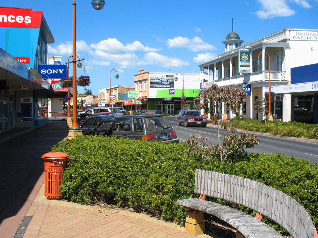 Downtown Morrinsville