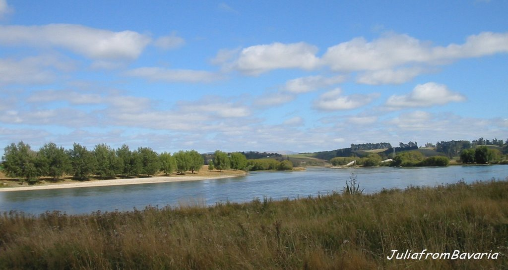 the Clutha River, South Otago, N.Z.